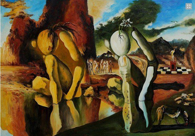 Metamorphosis of Narcissus, Gabriel Lorden